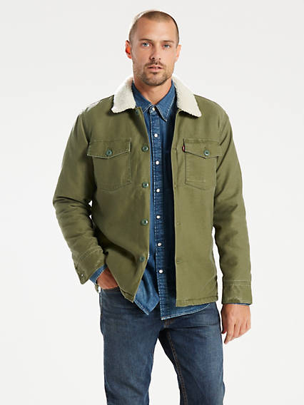Military Sherpa Shacket