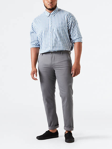 BIG & TALL DOCKERS® ALPHA KHAKI