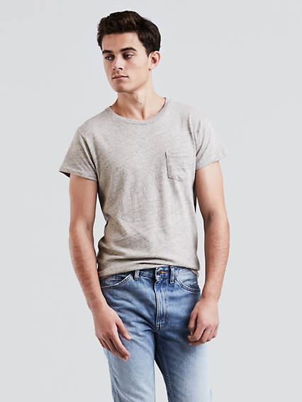 Vintage Shirts – Mens – Retro Shirts Levis 1950s Sportswear T-Shirt - Mens XS $88.00 AT vintagedancer.com