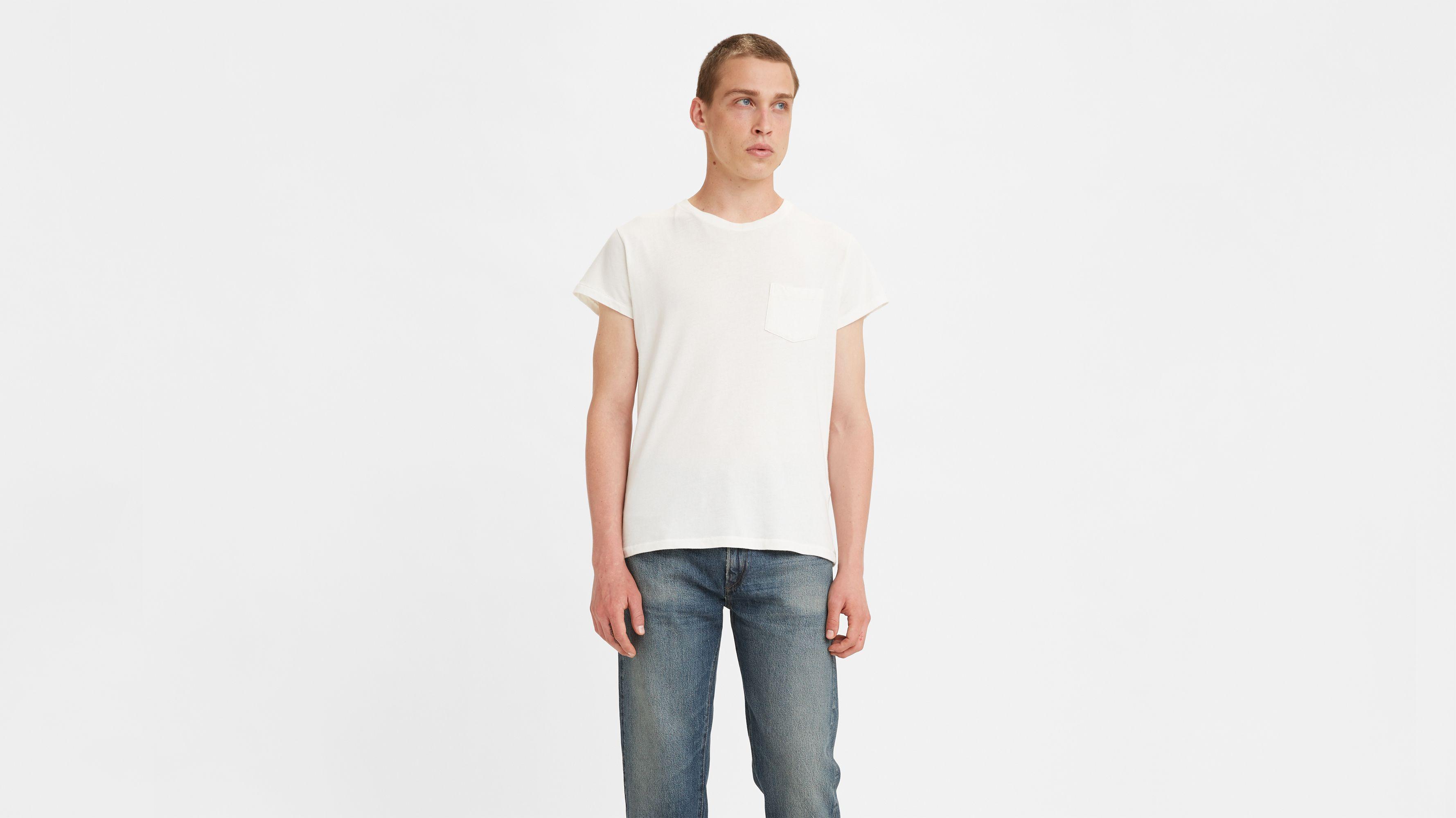 1950s white t shirt