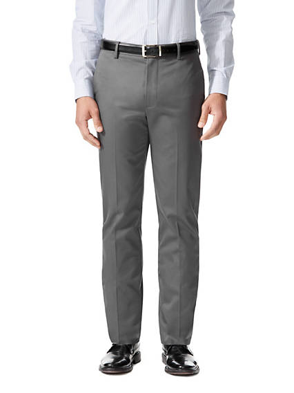 Wrinkle Free Khaki Pants, Slim Fit