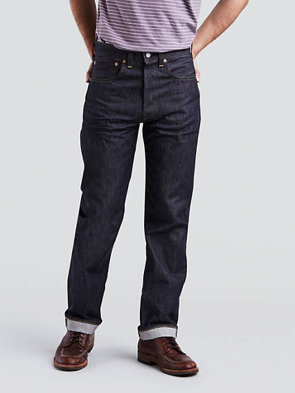 Men's Vintage Pants, Trousers, Jeans, Overalls Levis 1947 501 Vintage Jeans - Mens 38x34 $285.00 AT vintagedancer.com