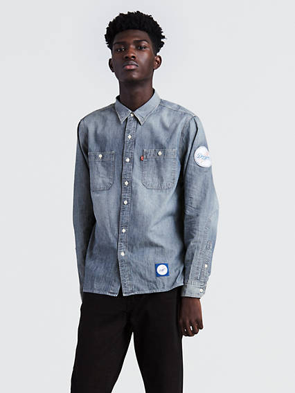 df0f856c8 Levi s® MLB Chambray Patch Shirt · QUICK VIEW. Los Angeles Dodgers