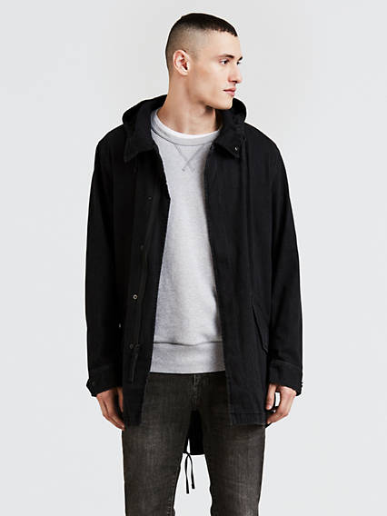 Lightweight Fishtail Parka Jacket