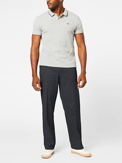 Men's Comfort Khaki Pants, Relaxed Fit