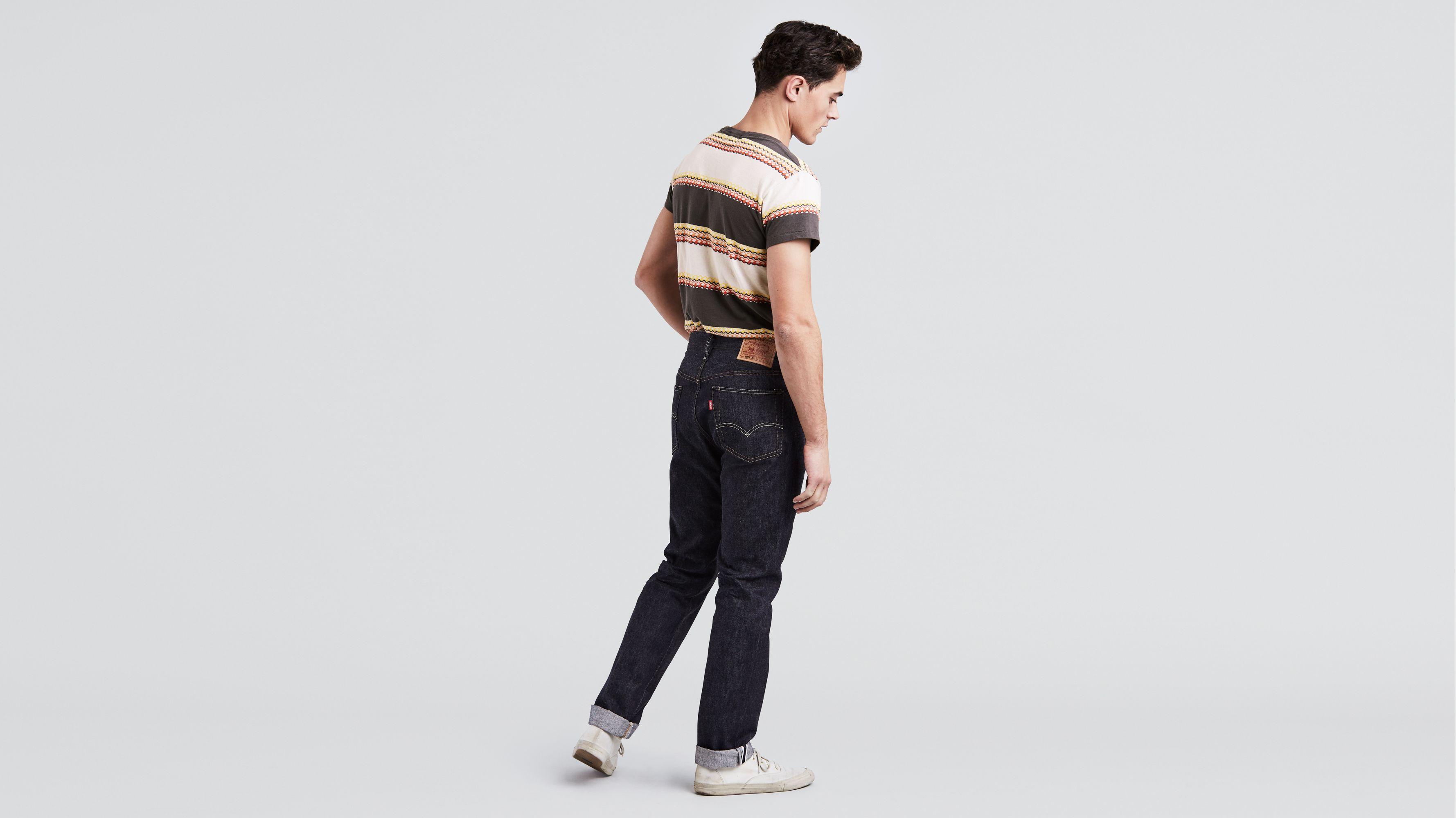 Levi's® Vintage Clothing 1954 501® Jeans Black | Levi's® GB