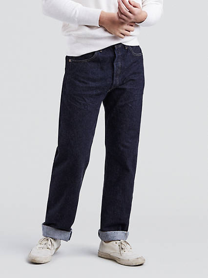 Men's Vintage Pants, Trousers, Jeans, Overalls Levis 1955 501 Vintage Jeans - Mens 38x34 $240.00 AT vintagedancer.com