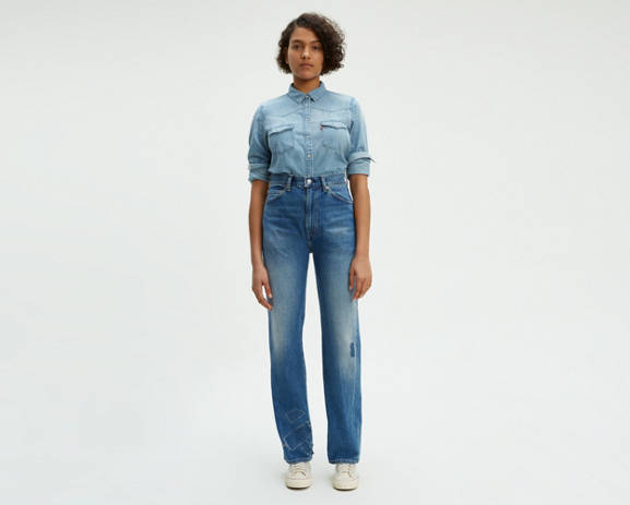 463c0164 Levi's® Vintage Clothing 1950's 701™ Jeans | Women | Clothing ...