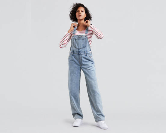 ffe6f5689b2 Mouse over image for a closer look. Baggy Overalls ...