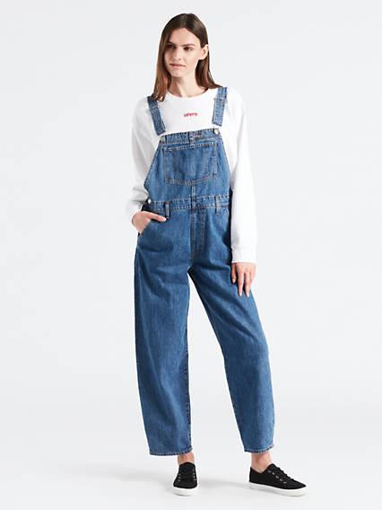 Baggy Overall Pants
