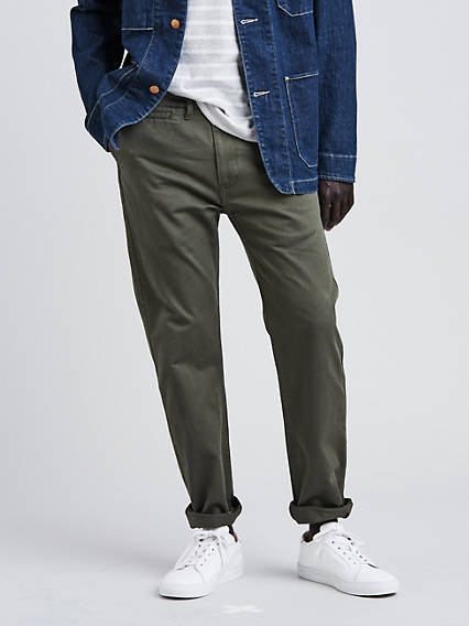 502 Regular Taper Fit Chino Trouser