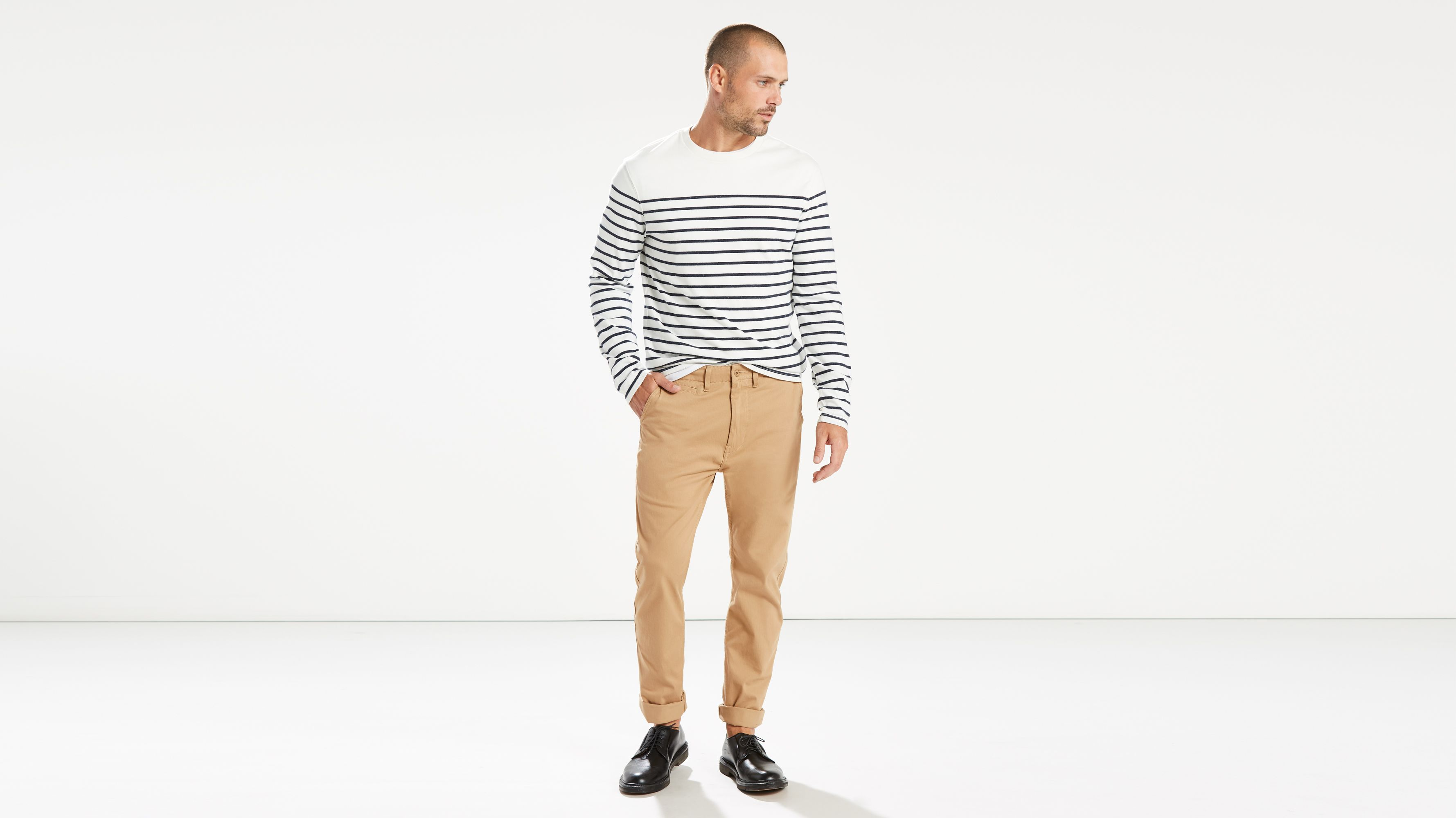 new style select for original aliexpress 502™ Regular Taper Stretch Chinos