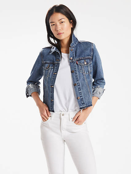 Embellished Trucker Jacket