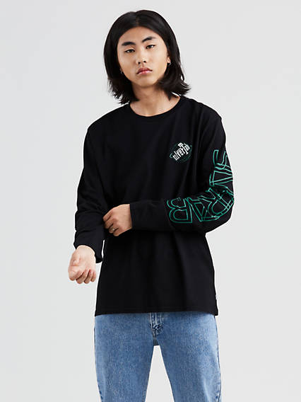 Levi's® SilverTab Long Sleeve Graphic Tee Shirt