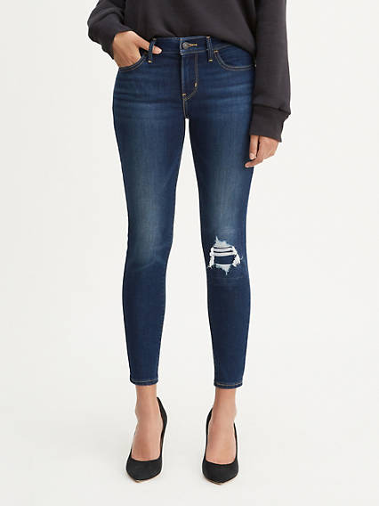 710 Super Skinny Cool Cropped Jeans