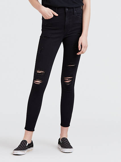 Mile High Ankle Skinny Jeans