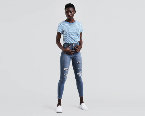 7b9e856977b3 Use + and - keys to zoom in and out, arrow keys move the zoomed portion of  the image. Mouse over image for a closer look. Mile High Super Skinny Ankle  Jeans ...