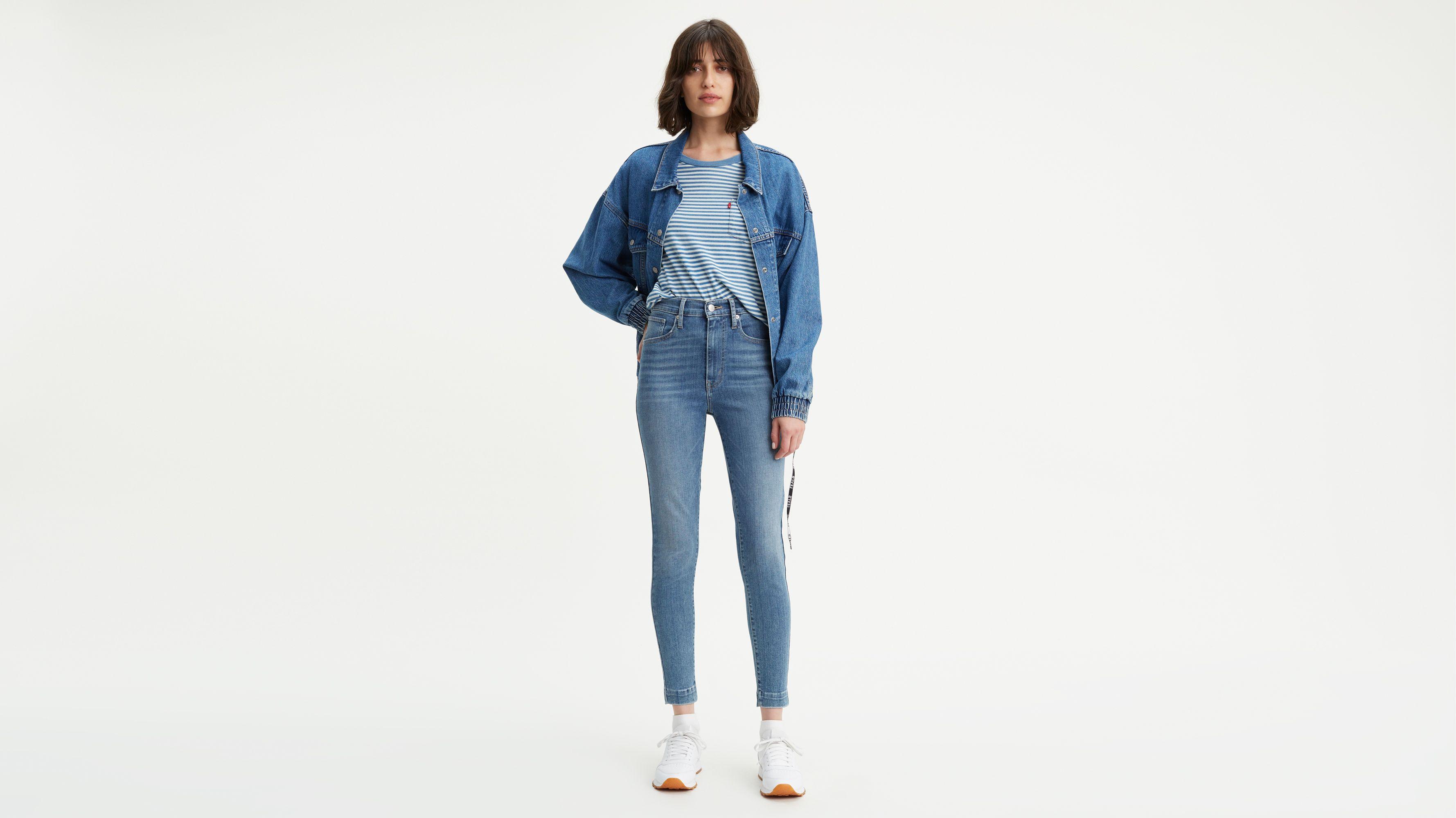 Skinny Women's Super Jeans Levi's® High Rise Stretch Us Mile pwIpa