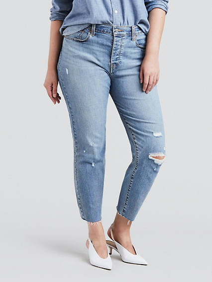 c98286c5124 Wedgie Fit Jeans (Plus Size)