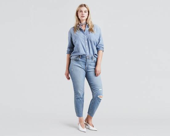 1c8571a2667 Wedgie Fit Jeans (plus Size) - Medium Wash