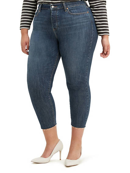 Wedgie Fit Jeans (Plus)