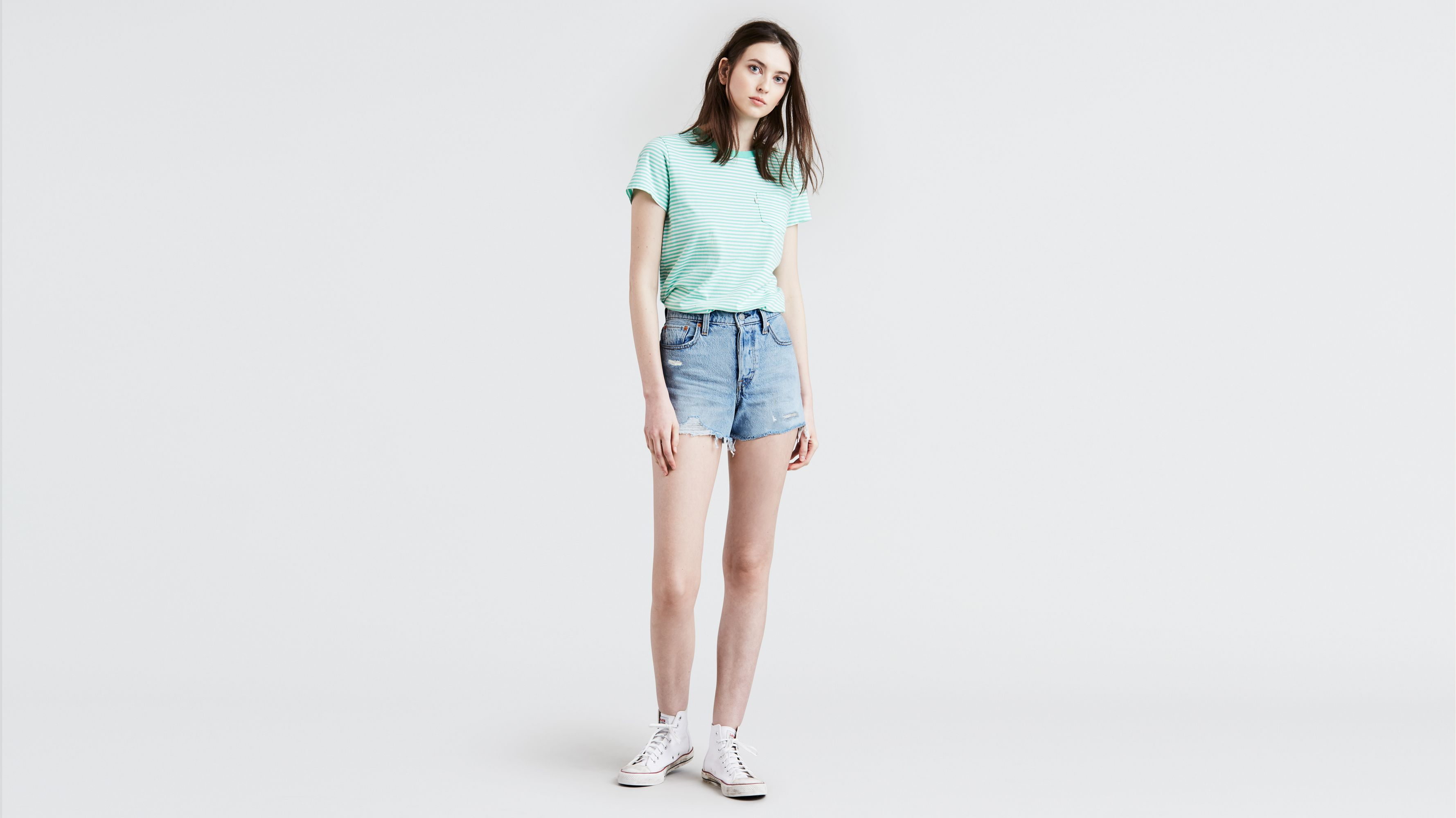 be16a8ba Wedgie Fit Shorts - Medium Wash   Levi's® US