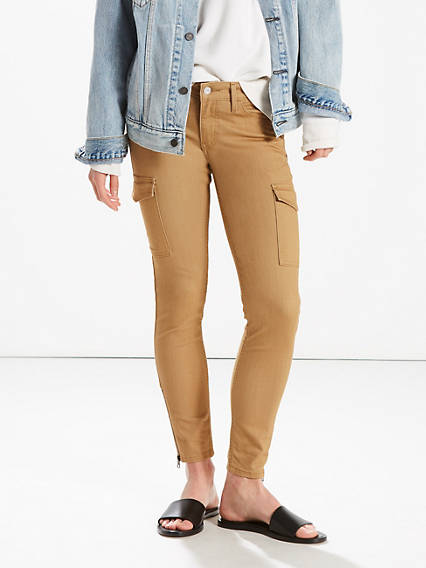 711 Utility Skinny Ankle Jeans