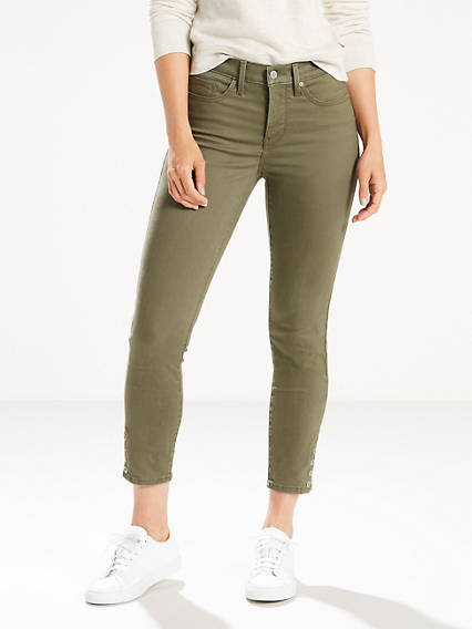 311 Shaping Skinny Ankle Snap Jeans