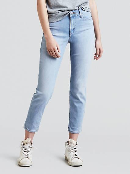 Classic Crop Jeans