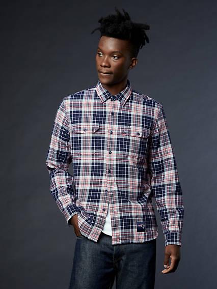 Levi's® NFL Grid Iron Plaid Shirt
