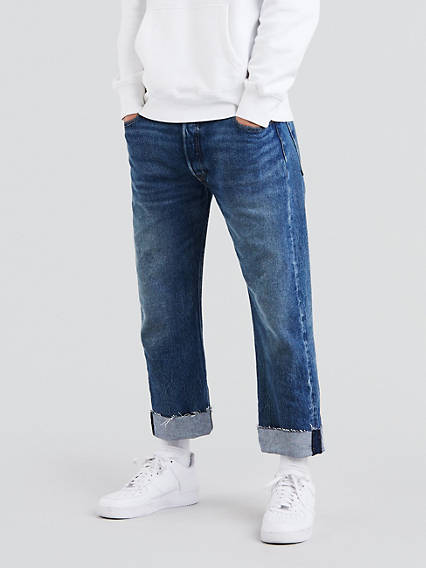 501® Original Custom Pleated Jeans