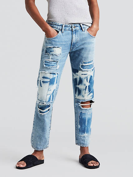 Crush Taper Jeans