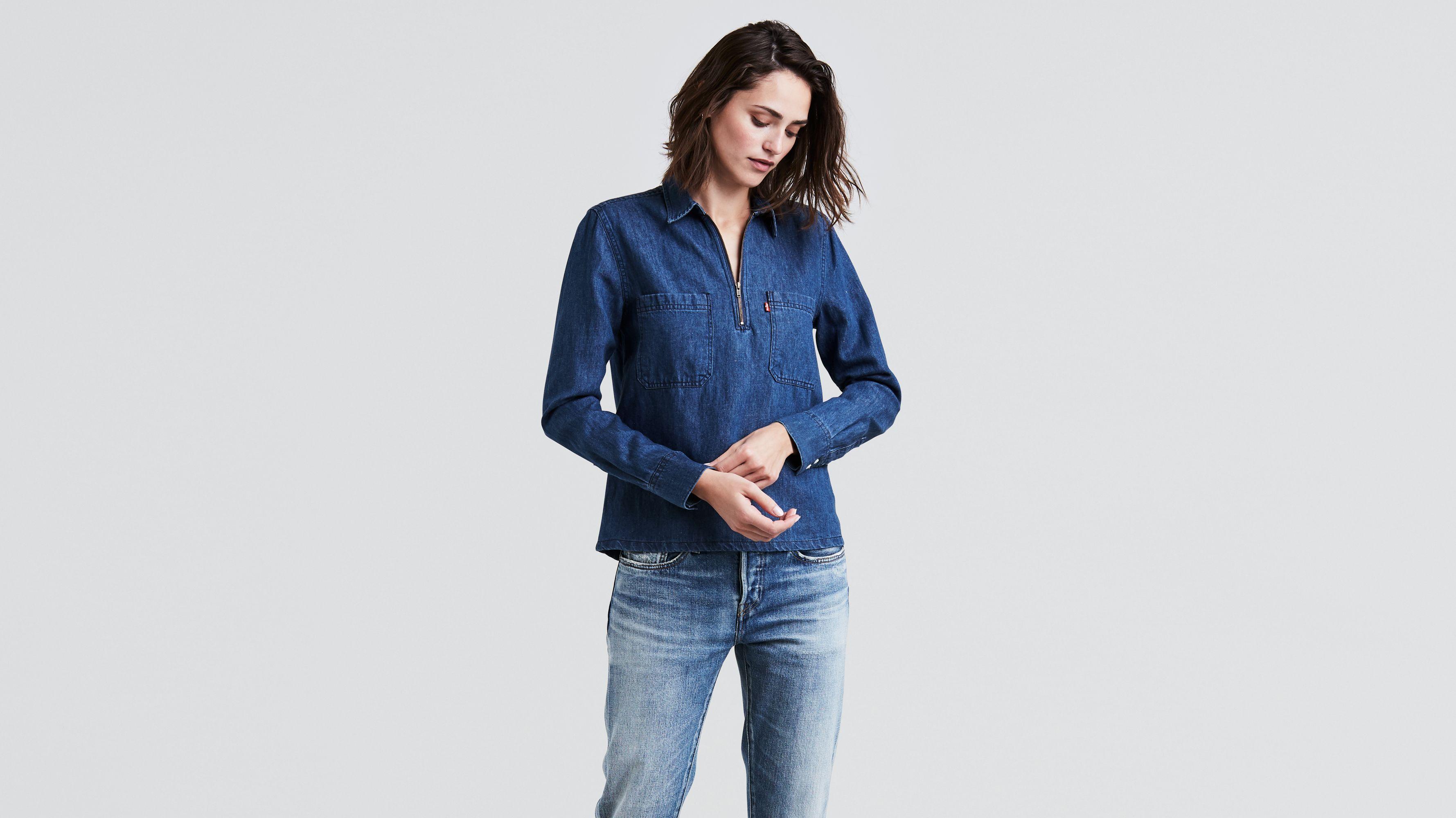 tops tank blouses shirts denim t levi's® Women's shirts us amp; tIqBSS