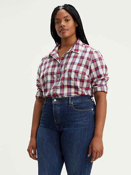 Ryan Boyfriend Shirt (Plus Size)