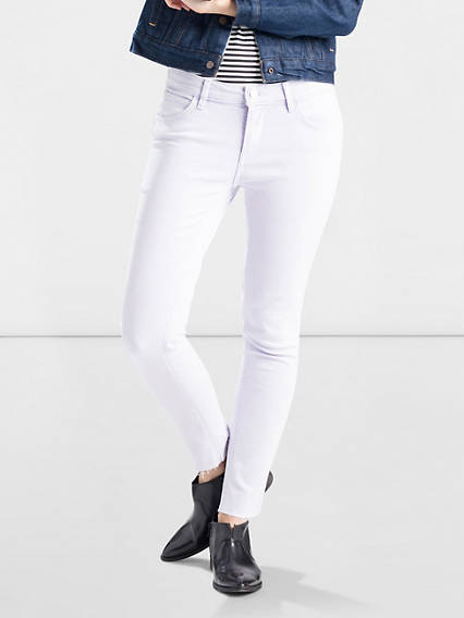 Line 8 Mid Skinny Ankle Jeans