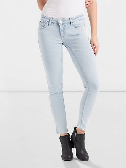 Line 8 Low Super Skinny Ankle Jeans