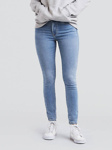 Women s High Waisted Skinny Jeans - High Rise Jeans  e8b2336354