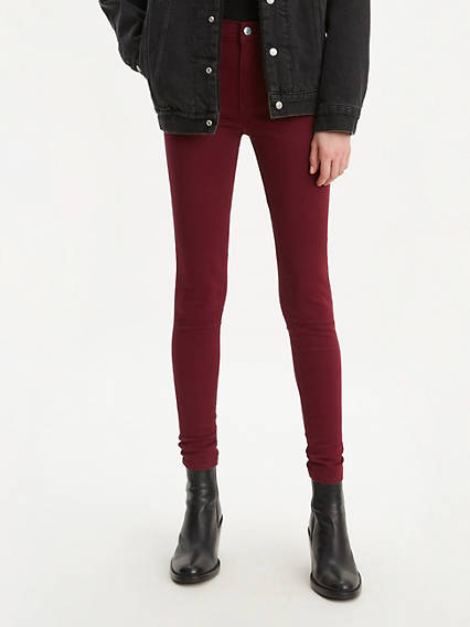720 High Rise Super Skinny Colored Women's Jeans