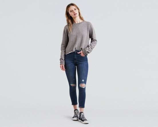 8e4760a8ef86 721 High Rise Ankle Skinny Jeans - Dark Wash