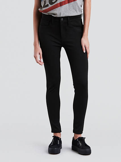 720 High Rise Super Skinny Ponte Jeans