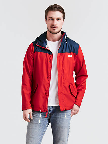 Pieced Vallejo Rain Jacket