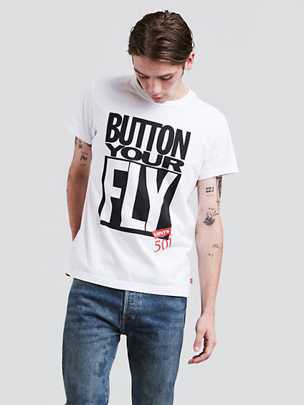 Button Your Fly Graphic Tee