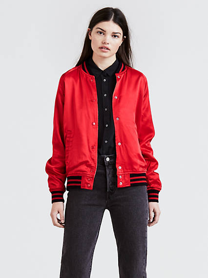 Kora Reversible Bomber Jacket