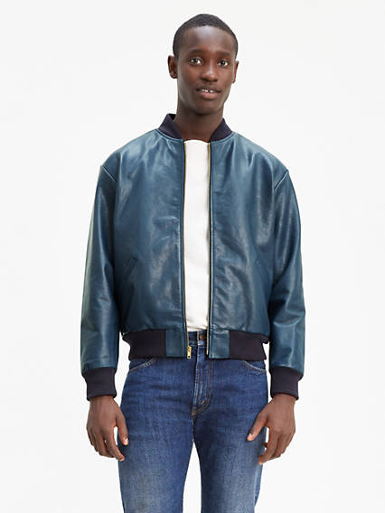 Levi's® Vintage Clothing Leather Bomber