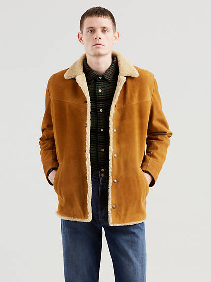 Levi's® Vintage Clothing Suede Sherpa Jacket