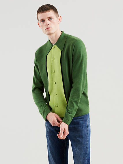 Levi's® Vintage Clothing Long Sleeve Knit Shirt