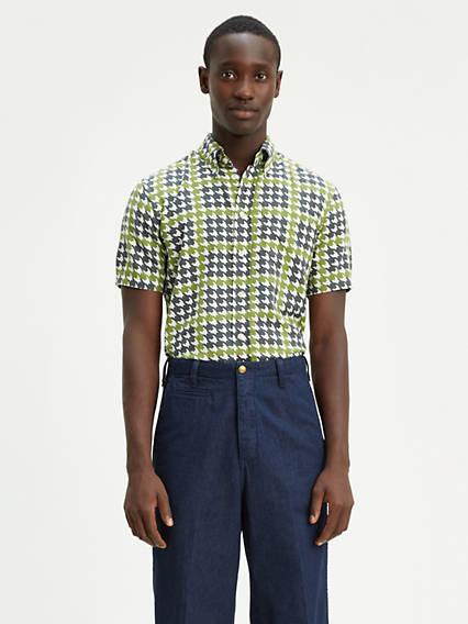 60'S Short Sleeve Button Down Shirt