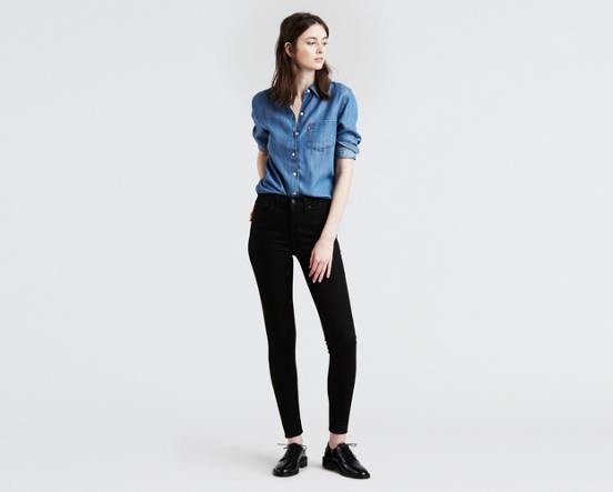 eef058ba130be 310™ Shaping Super Skinny Jeans - Black | Levi's® GB