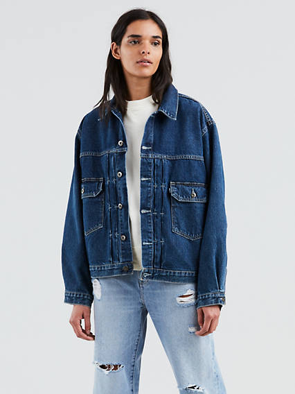 Love Letter Trucker Jacket