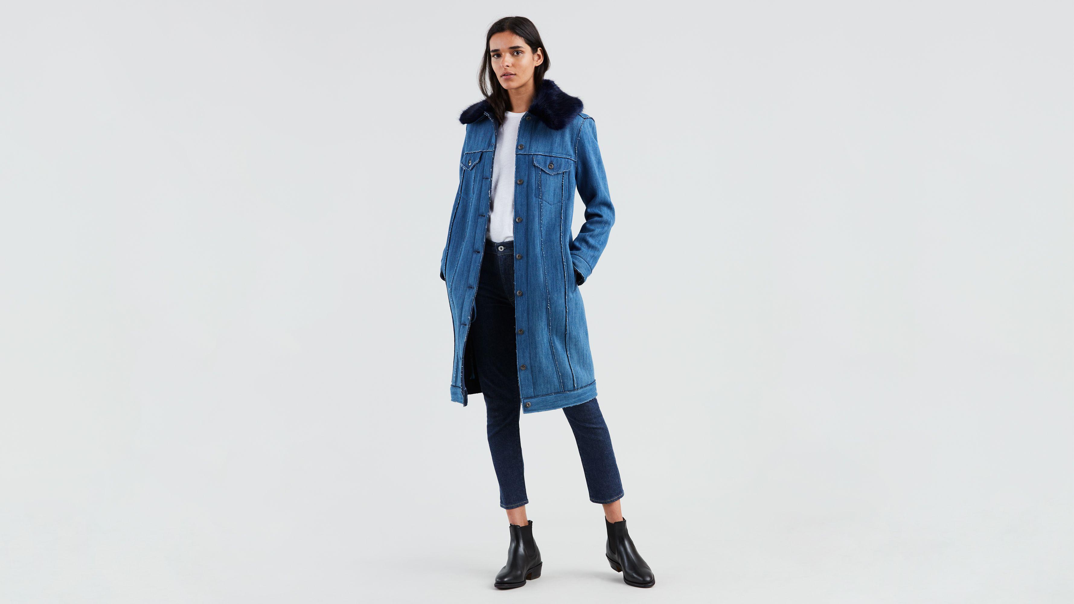 Outerwear Winter Girls Coat By M&s Indigo Size 12-18 Months